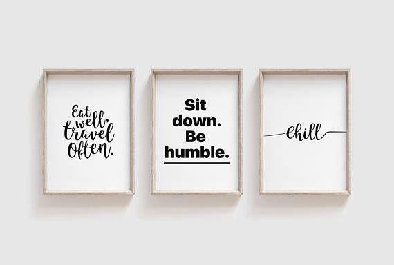 Wondrous Quote Prints Set Set Of 3 Prints Trending Now Prints Download Free Architecture Designs Scobabritishbridgeorg