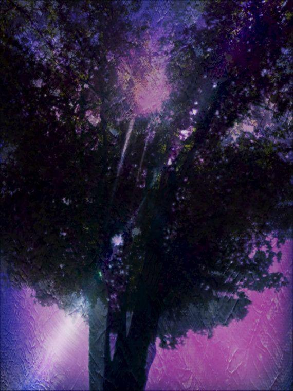 TREE OF LOVE instant digital art download beautiful by ZAPPERART, $3.75