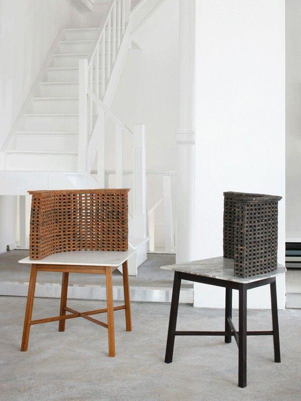 Studio Mumbai Draws On Traditional Indian Craft Using Brick + Bamboo To  Hand Make Furniture For Maniera