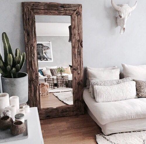 25 beste idee n over spiegels op pinterest for Spiegel boven bed