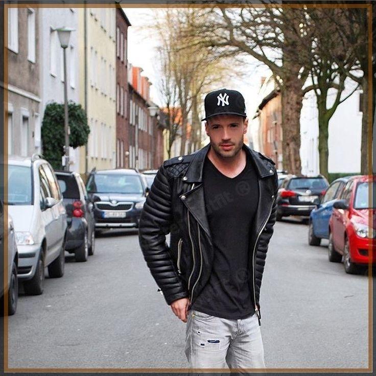 Men'S Celebridad Cordero Genuino para hombre elegantes chaqueta de motociclista ajustada Rider A65 | Ropa, calzado y accesorios, Ropa para hombre, Abrigos y chaquetas | eBay!