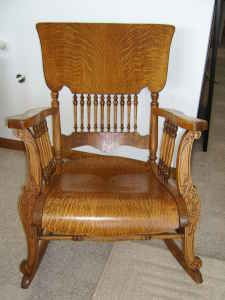 Victorian Rocking Chairs Vintage Chair Wooden Furniture Antique Interiors High