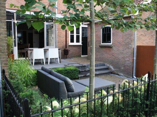 25 beste idee n over binnenplaats ontwerp op pinterest beton bankje zitplaatsen inde tuin en - Tuin exterieur ontwerp ...