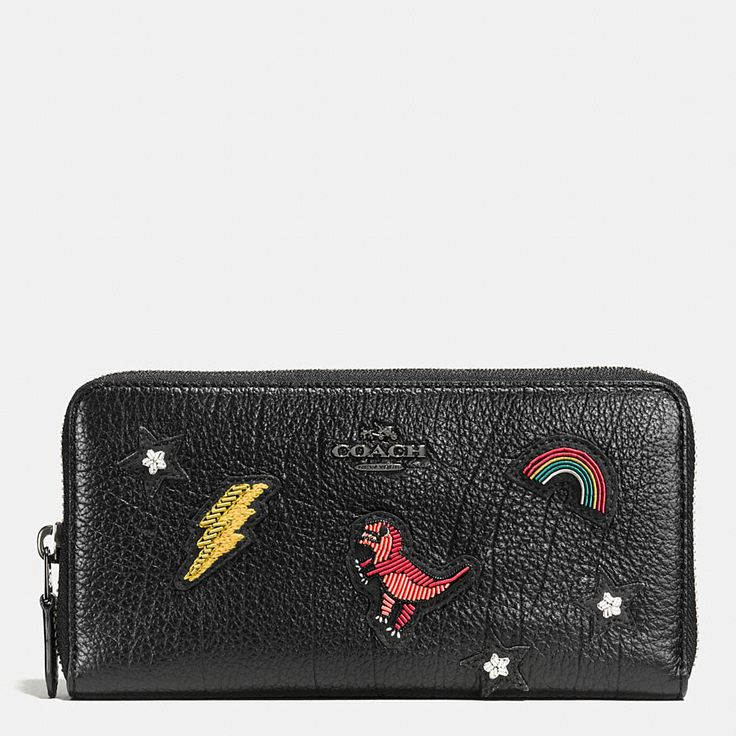 Shop The COACH Accordion Zip Wallet In Grain Leather With Souvenir Embroidery. Enjoy Complimentary Shipping & Returns! Find Designer Bags, Wallets, Shoes & More At COACH.com!