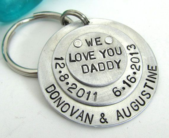 father's day gifts key chain