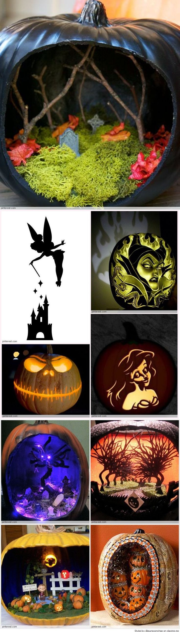 cool pumpkin carving ideas new halloween pinterest halloween deco citrouille et f tes. Black Bedroom Furniture Sets. Home Design Ideas