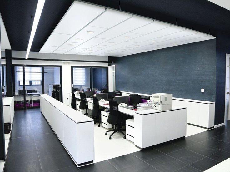 Acoustic ceiling tiles Ecophon Master™ Matrix by Saint-Gobain ECOPHON