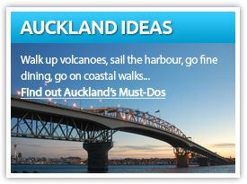 Find out Auckland's Must Dos