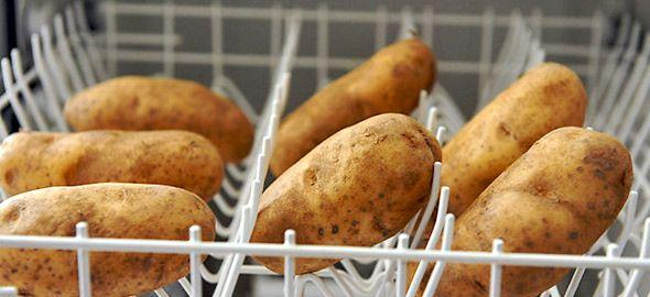 Τι δουλειά έχουν οι πατάτες στο πλυντήριο πιάτων και τα λεμόνια στον φούρνο μικροκυμάτων; Δείτε 8 έξυπνες ιδέες για την τέλεια προετοιμασία του εορταστικού γεύματος!