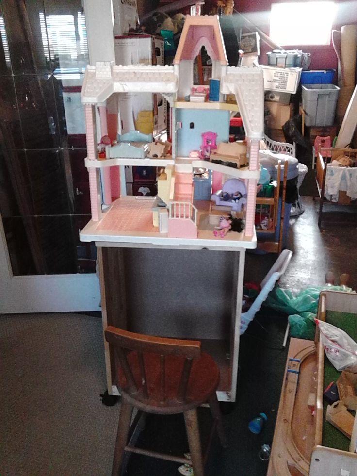 New doll house storage