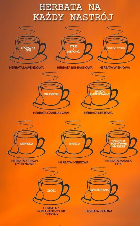 Wiecie, że rodzaj herbaty może wpłynąć na Twój nastrój i jego poprawę?! Tea for every mood. #herbata #tea