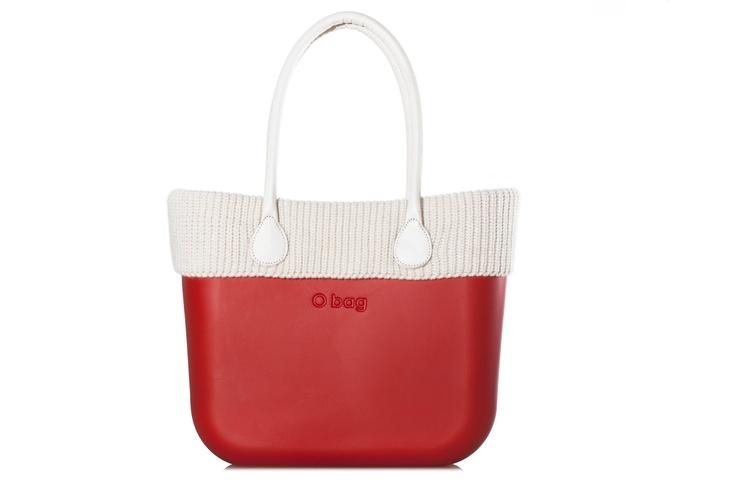 O'BAG BY FULLSPOT red wool #obag #accessorize #wool #winter #obag #fullspotbiarritz #fullspot