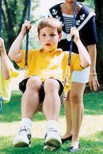 Overview on Duchenne muscular dystrophy from the MDA. Enlarged calf muscles are usually the first sign of DMD.
