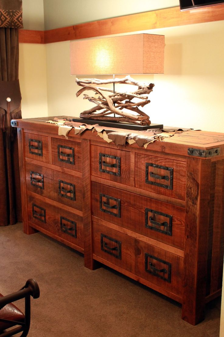 best roughing it's interior design images on pinterest  - this rusticdistressed dresser is hand crafted out of  year oldreclaimed barnwood