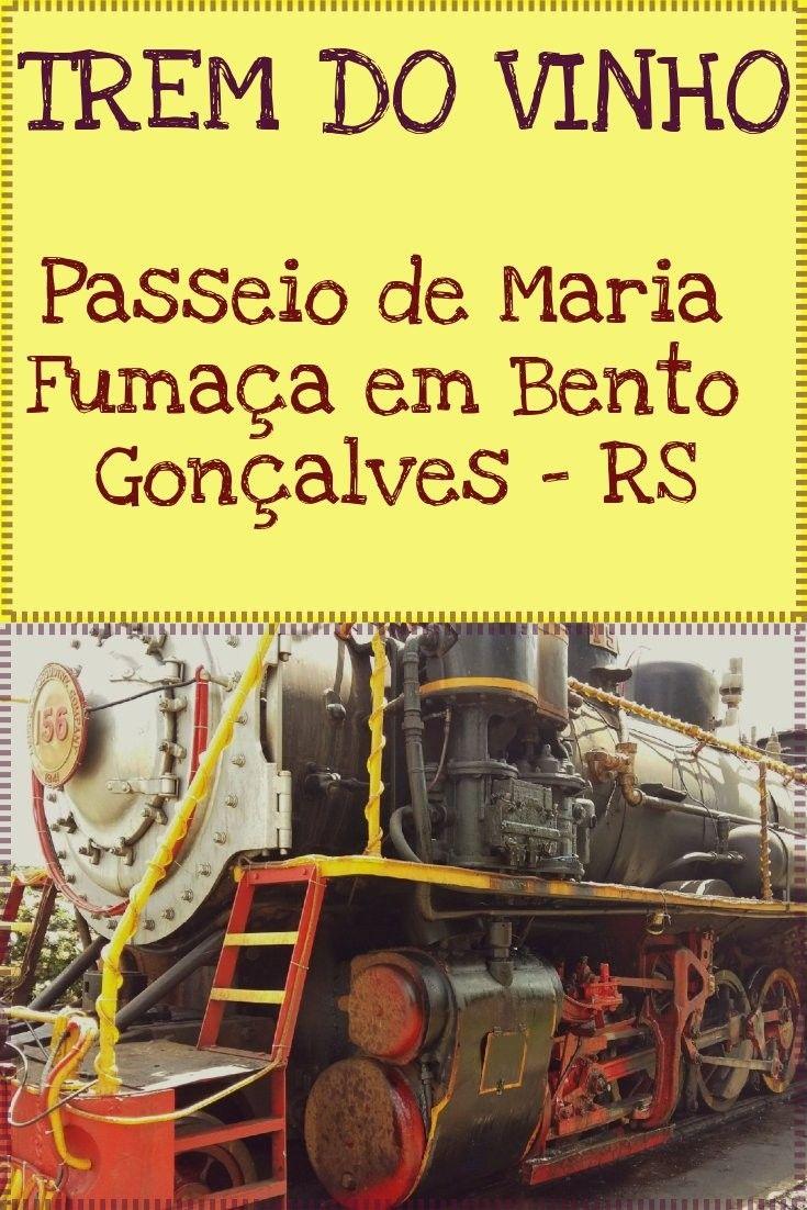 Passeio de Maria Fumaça e Parque Epopéia Italiana em Bento Gonçalves, RS