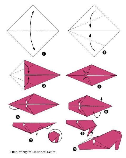 High Heel Shoes Origami Instructions ~ High Heel Sandals