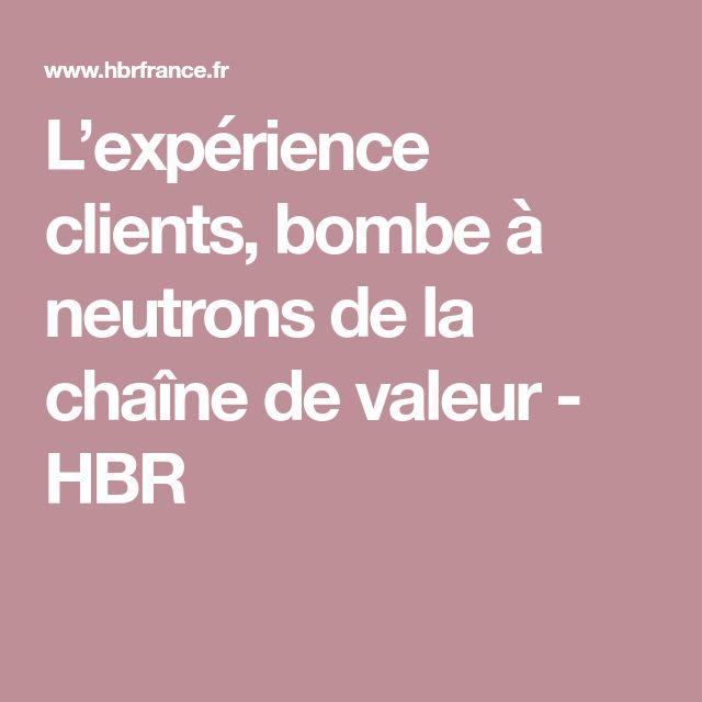 L'expérience clients, bombe à neutrons de la chaîne de valeur - HBR