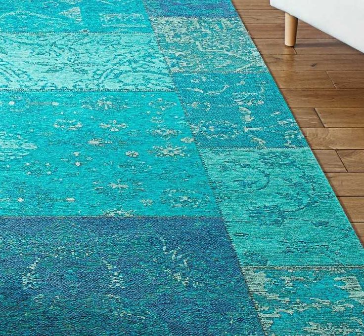 Renaissance 25-L Turquoise Rugs | Modern Rugs