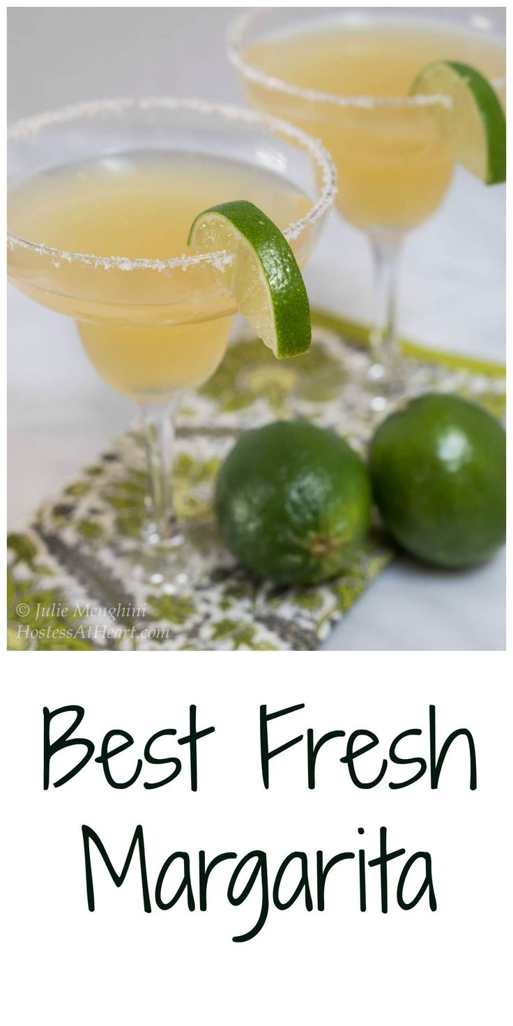 Fresh Margarita | Recipe | Fresh Margarita Recipe, Margarita Recipes ...