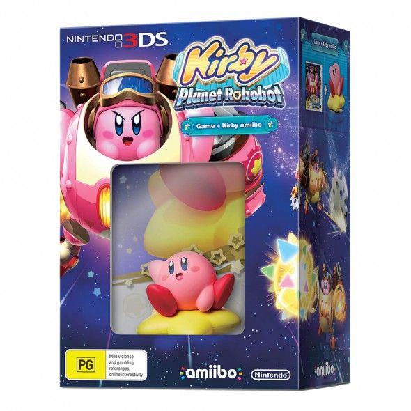 Kirby Planet Robobot + Kirby Amiibo Bundle $60 @ Gamesmen.com.au