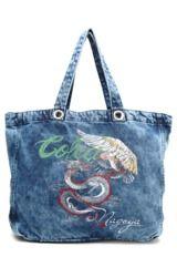 Bolsa Sacola Colcci Jeans Azul - Compre Agora | Dafiti Brasil