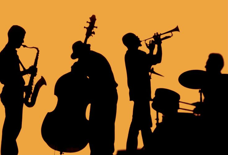 jazz band silhouette google search more band silhouette jazz poster ... Rock Band Silhouette