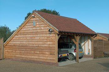 Special Offer - 2 Bay Oak Garage