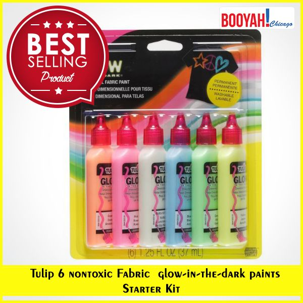 #GenuineImportedProductsDirectFromUSA Only at http://Booyahchicago.com  Tulip 6-Pack 3D Fashion Paint Glow. Buy Now : https://tinyurl.com/yas9lteo #OfficeSupplies #SchoolSupplies