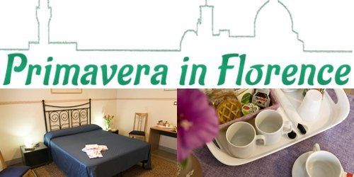 Bed and Breakfast Primavera in Florence welcomes you!