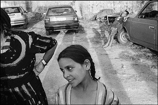 Nikos Economopoulos  Town of Etoliko. A gipsy girl.