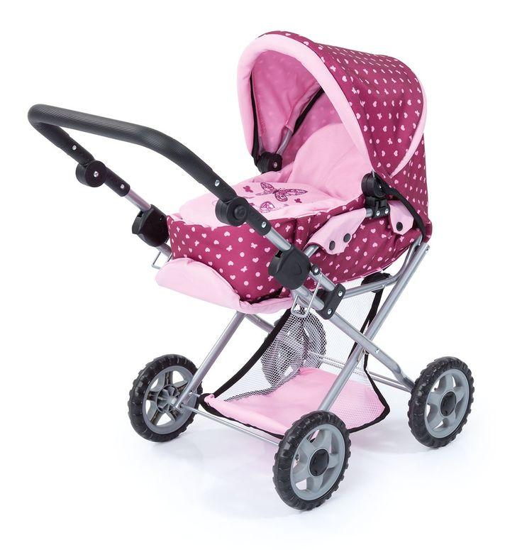 Der Spielzeugtester hat das Bayer Design 13953AA – Kombi-Puppenwagen Maxi, ros… – Spielzeugtester