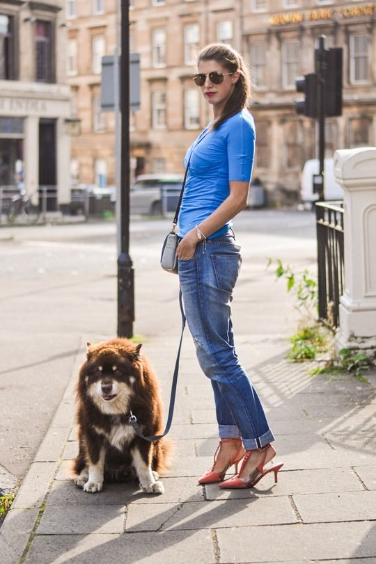A pair of Gap jeans as featured on the blog @Wendy Felts Felts @Wendy Felts @Wendy @thankfifi // THAT DOG! <3