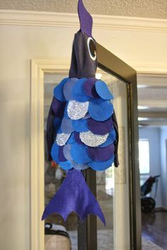 Shameless plug...Toddler Rainbow Fish costume DIY Tutorial