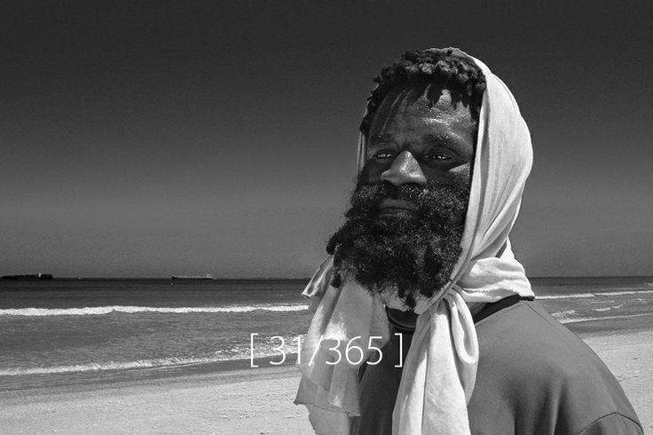 Thursday, 30 Jan 2014 [ Bruno from Congo, Blouberg beach ]