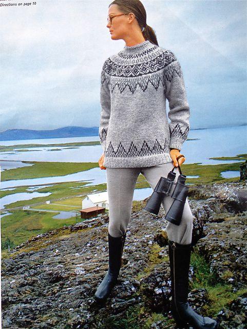 Ravelry: Icelandic Lopi Tweed project gallery