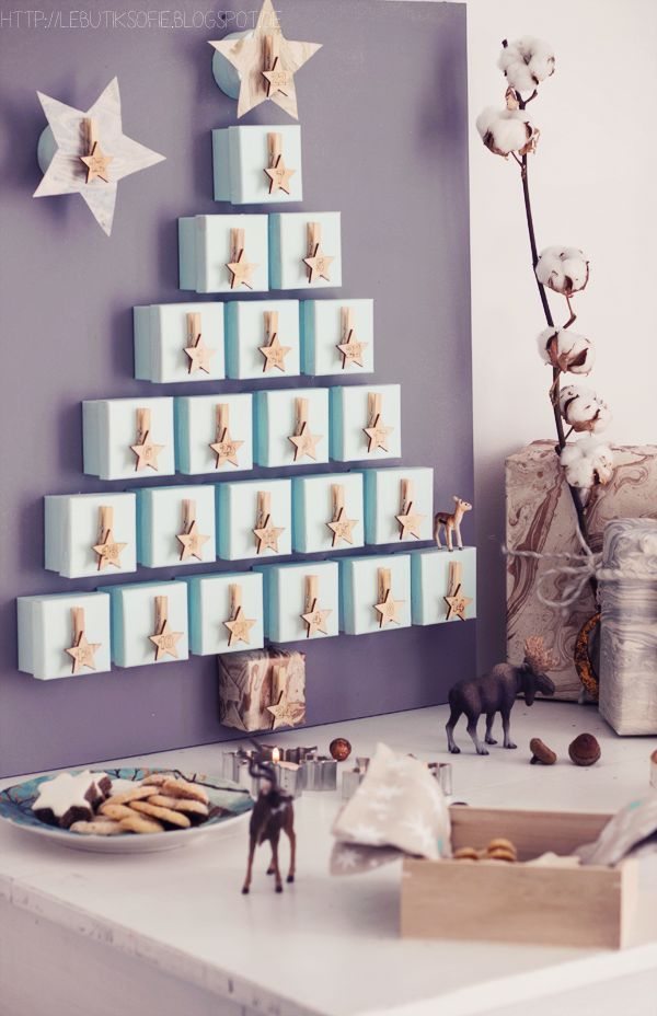 ♥ 10 irresistibles CALENDARIOS DE ADVIENTO para los peques muy fáciles de hacer ♥ : ♥ La casita de Martina ♥ Blog de Moda Infantil, Moda Bebé, Moda Premamá & Fashion Moms