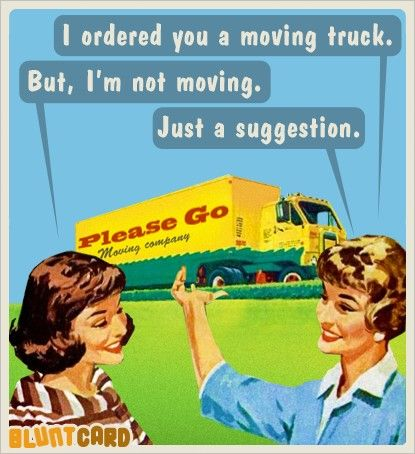... for all the über-wealthy celebrities and radical-chic elitists who vowed they'd leave the country, your removals van awaits ...