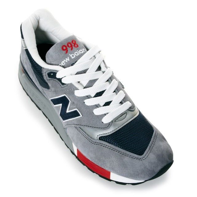 New Balance made in the usa 998 (GREY/RED)