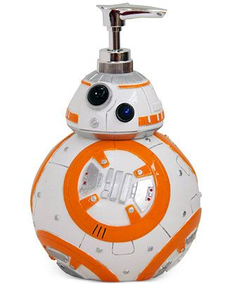 "Jay Franco Bath, Star Wars 7 ""BB8"" Lotion Pump - Bathroom Accessories - Bed & Bath - Macy's"
