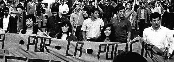 México, 1968. Movimiento estudiantil. Archivo de El Universal