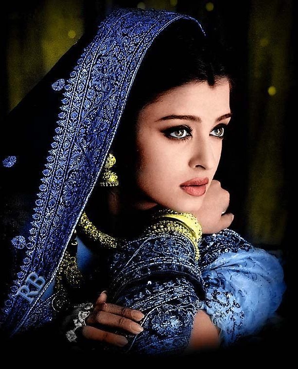 Indian Beauty Aishwarya Rai,   known also as Aishwarya Rai Bachchan after her marriage is an Indian film actress. She worked as a model before starting her acting career, and ultimately won the Miss World pageant in 1994.