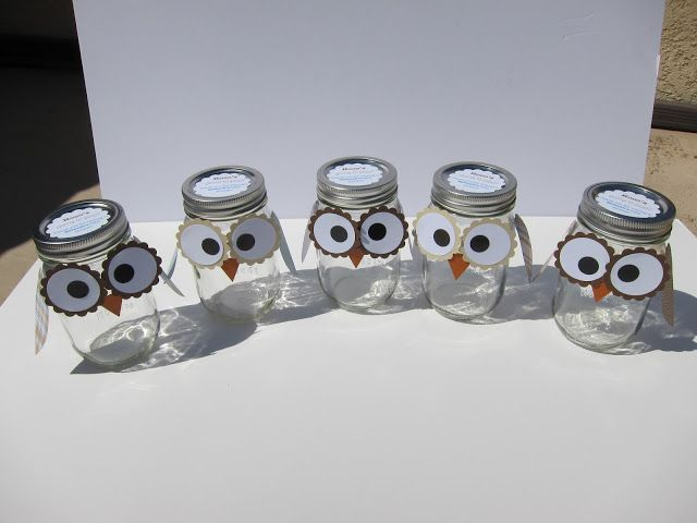 transformed: Prepping for Owl-themed Baby Shower