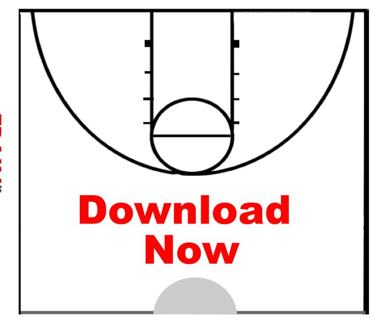 Printable Basketball Court Diagram Blank \x3cb\x3ebasketball\x3c/b\x3e ...