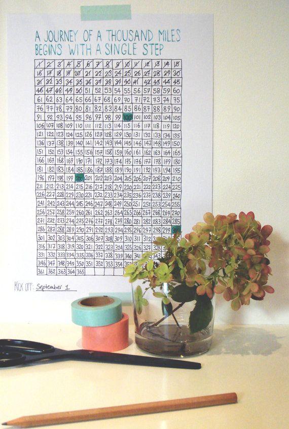 365 Dagen Project - Aftel Kalender Download