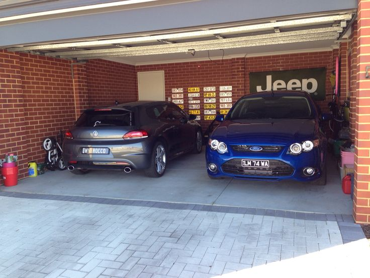 My Xr6 Turbo ute and Gill's Scirocco R