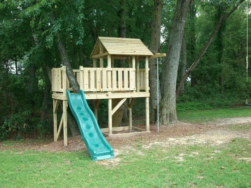Backyard Playground Hand Crafted Wooden Playsets
