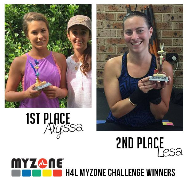 Congratulations to our H4L Road Runner MyZone Challenge Winners, Alyssa and Lesa who were the highest team scored. Alyssa with the highest points in her team taking out the Road Runner award and Lesa following with an impressive result taking home the Wile E Coyote. #myzone #myzonechallenge #effortrewarded #outdoorfitness #trainhailorshine #socialfitness #crossfit #bootcamp #befit #bemotivated #workout #exercise #fitnessinspiration #healthy4lifefitness #H4L