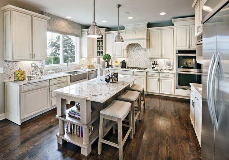 Traditional white kitchen kitchen interiors for Kitchen ideas pinterest