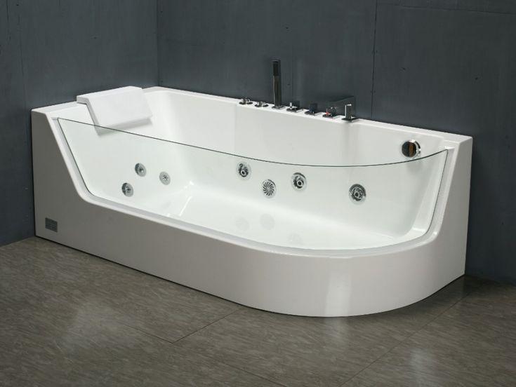 22 best Déco salle de bain images on Pinterest Bathroom ideas - prix baignoire a porte