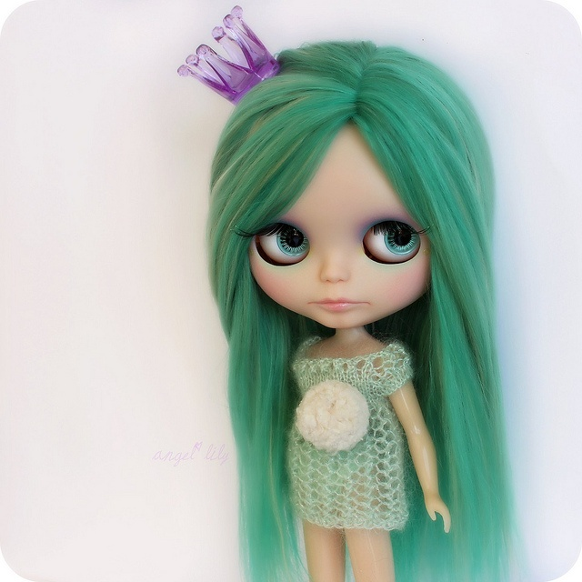 Flickr: The Blythe and green hair. Pool